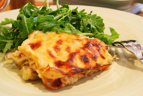 Rabbit Lasagne
