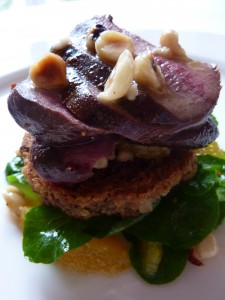 Breast of wood pigeon - Howards House