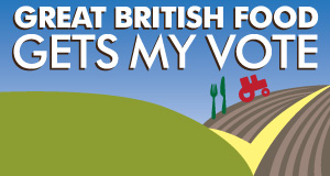 Great British Food Gets My Vote