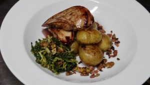 pan fried pheasant ty gwyn