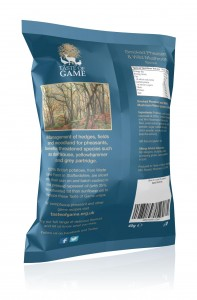 Pheasant back view crisps