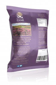 grouse back view crisps