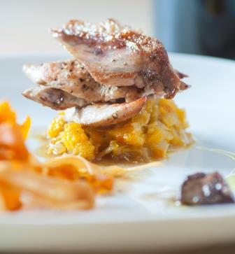 Roast Partridge with Rosti