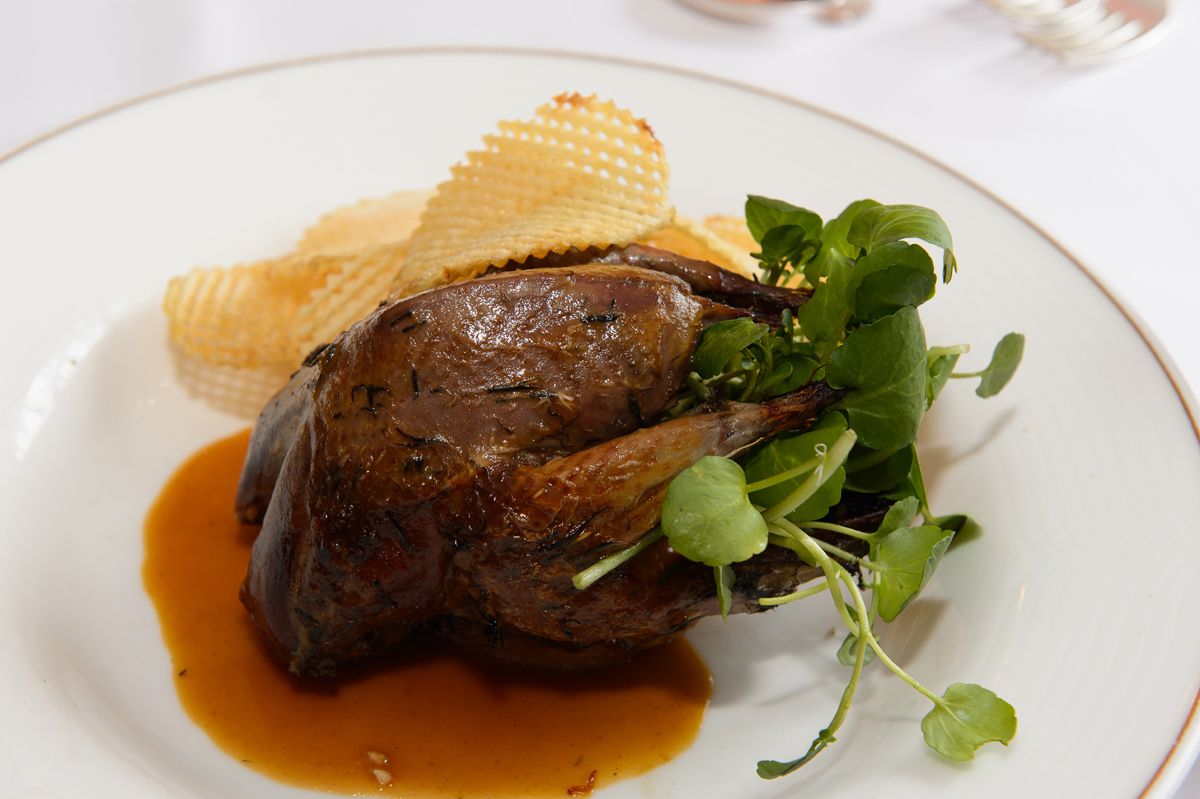 Celebrate Glorious Twelfth with grouse dish