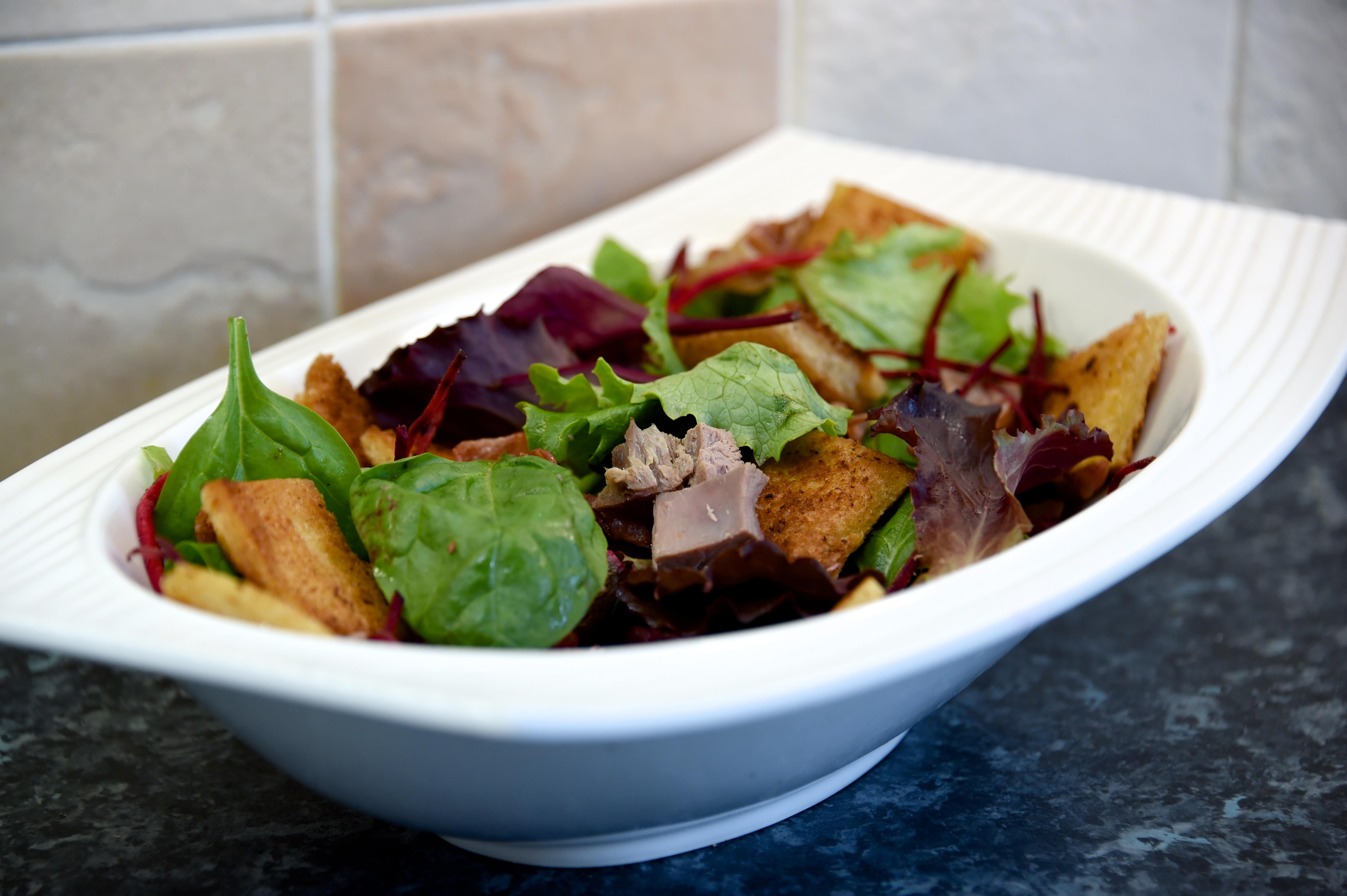 Warm Grouse Salad