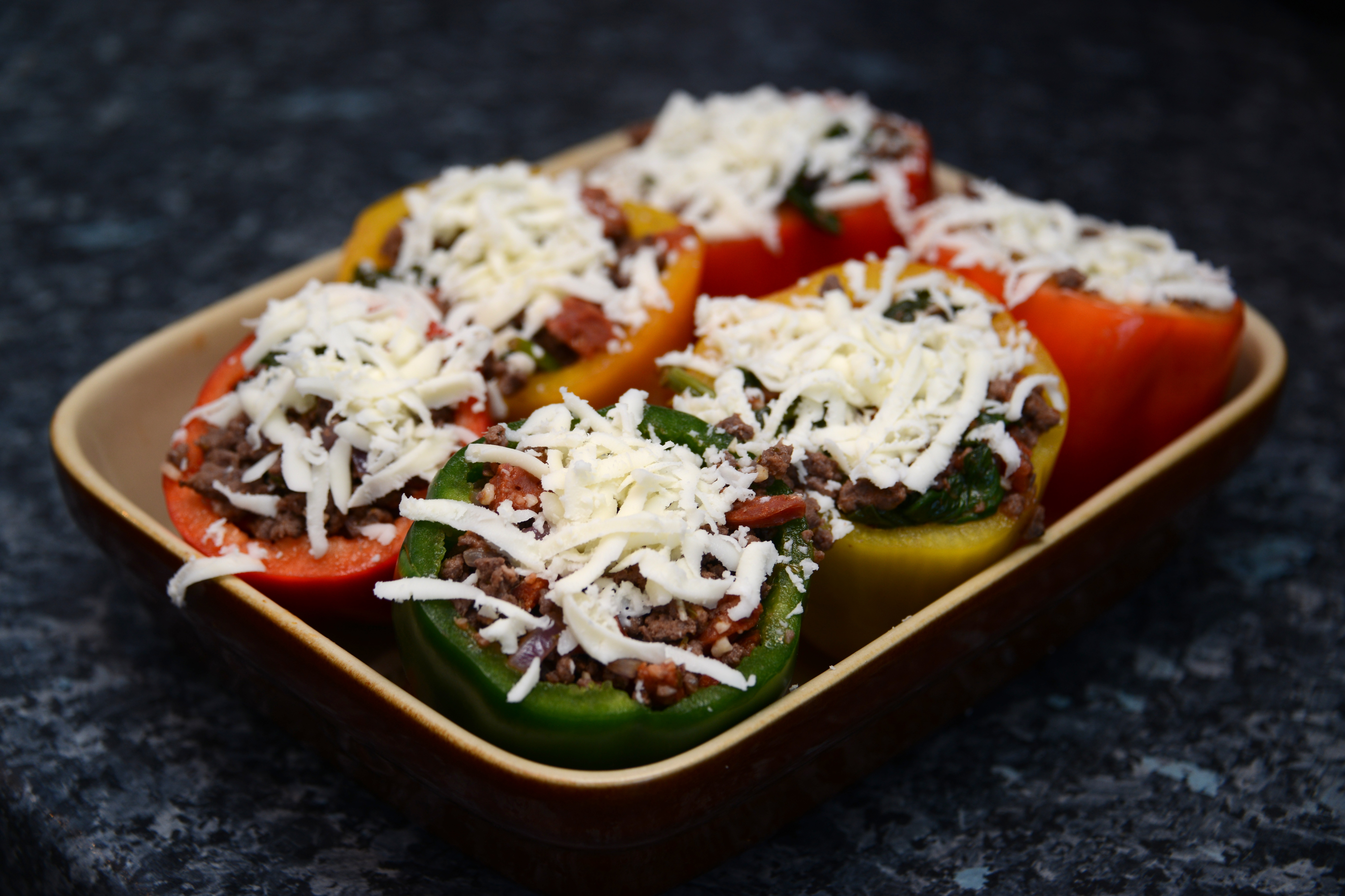 Venison Stuffed Peppers