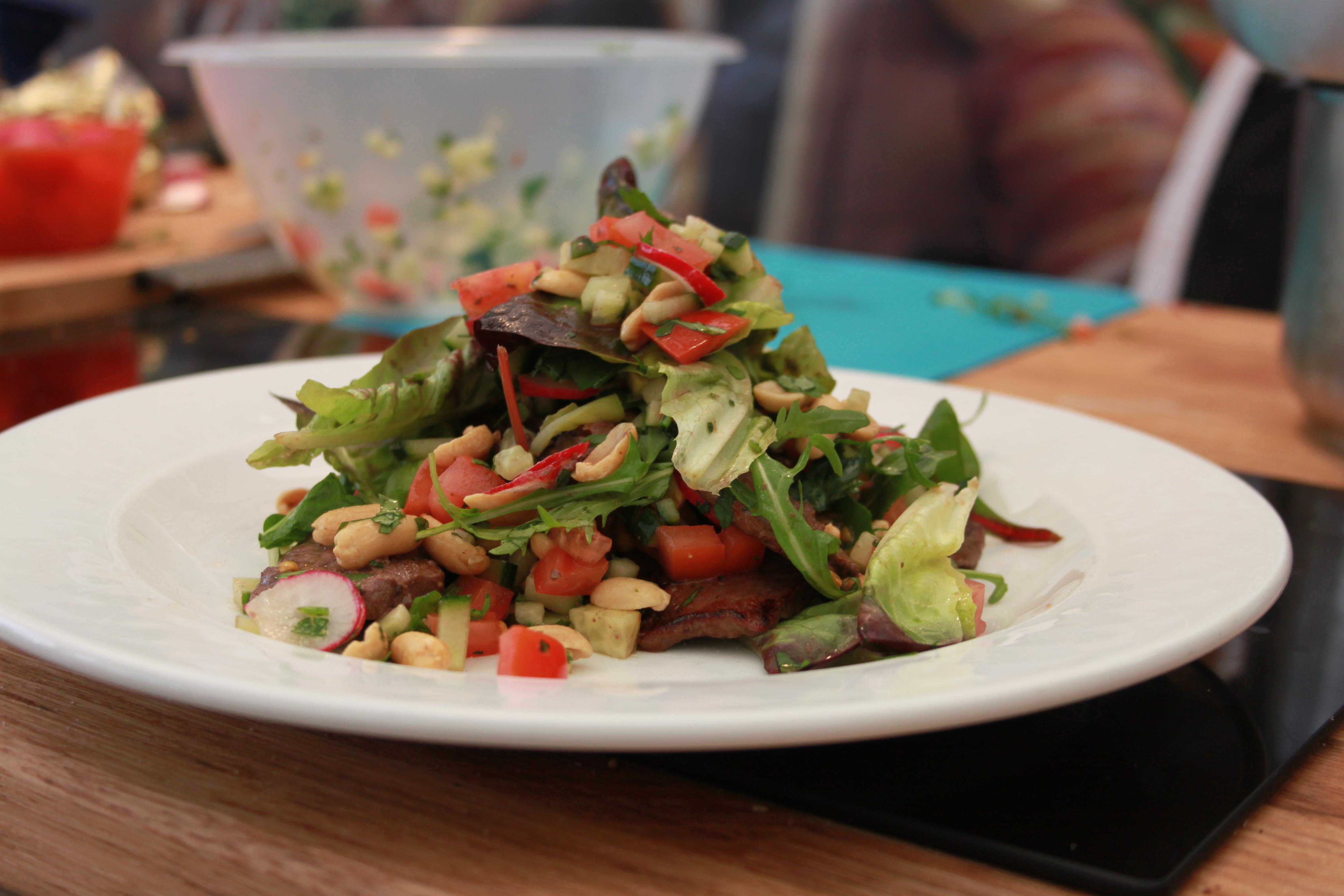 Asian Venison Salad