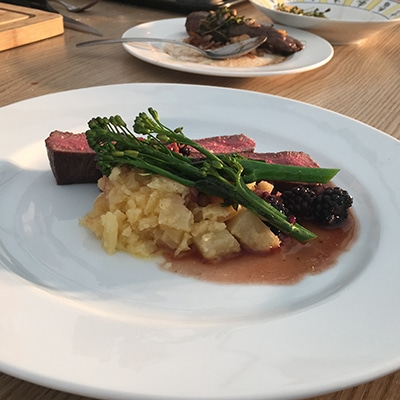 Bryn Williams – Venison, Swede & Blackberries