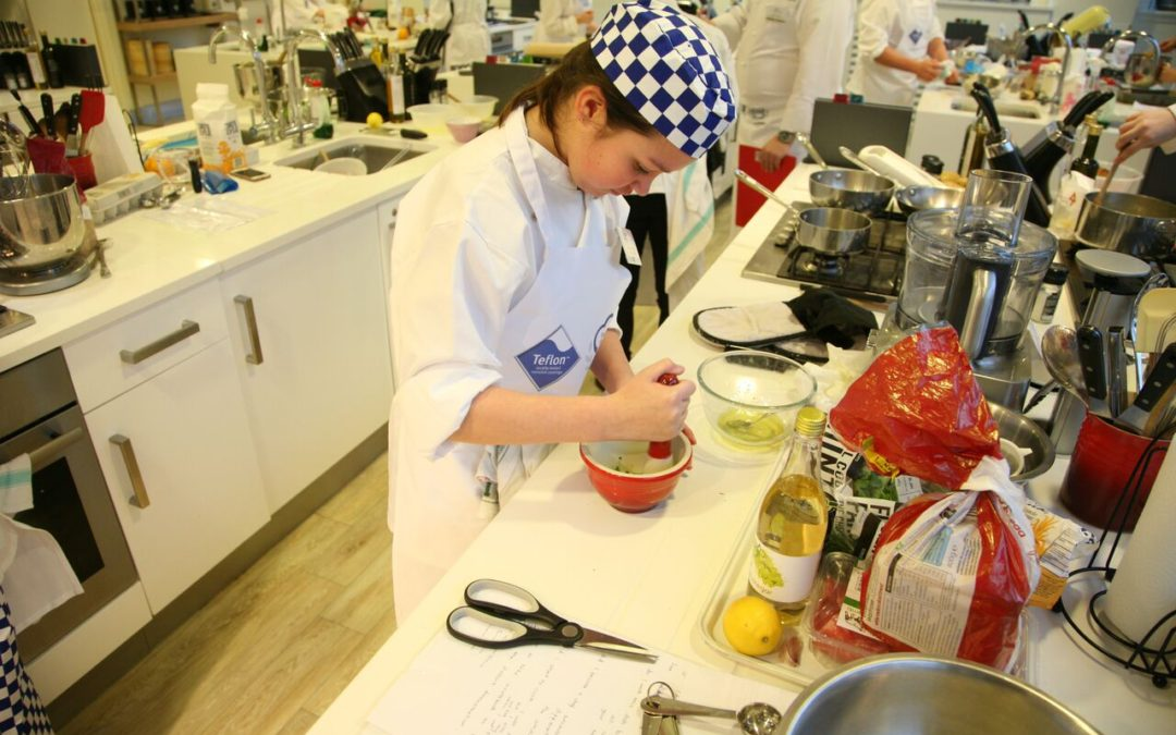 Are you game for a cookery competition?