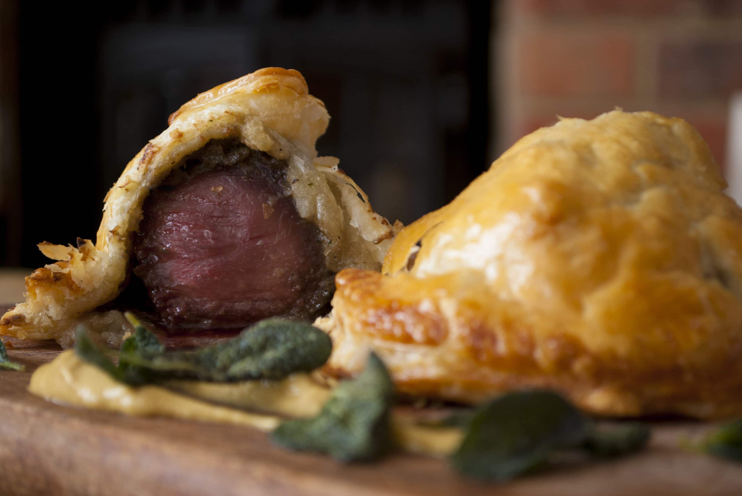 Mini Venison Wellingtons