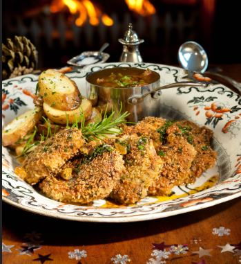 Herb-crusted Venison Escalope