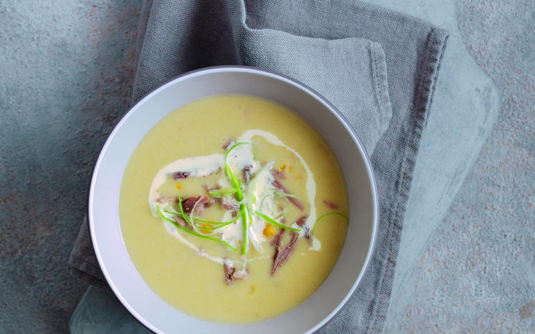 Wild Creamy Sweetcorn Soup