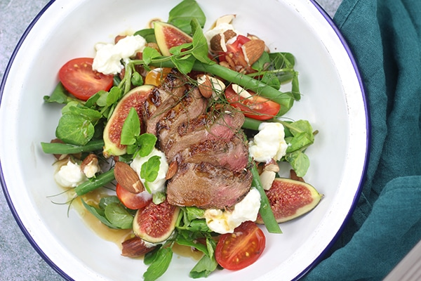 Grouse & Fig summer salad
